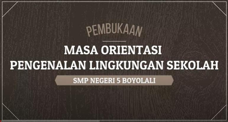 PEMBUKAAN MPLS PPDB 2020/2021
